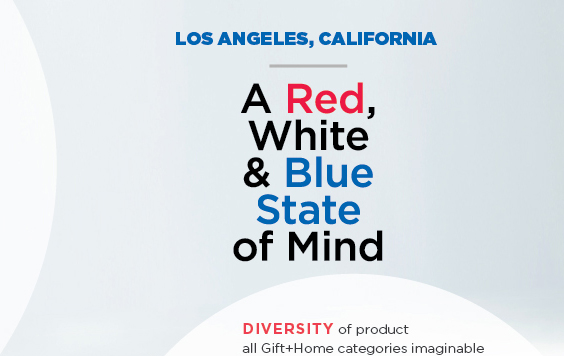 LOS ANGELES, CALIFORNIA | A Red, White & Blue State of Mind